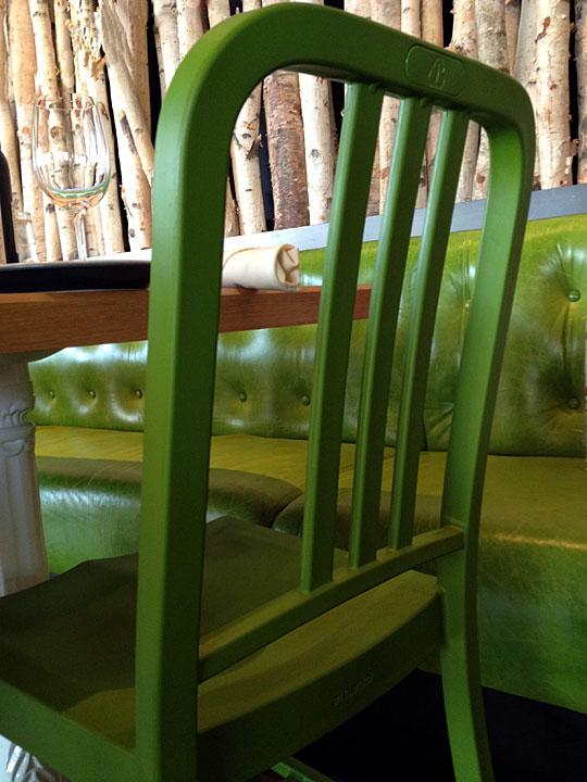 Web Green Chair