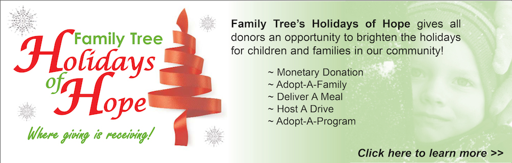 Holiday of Hope for Family Tree