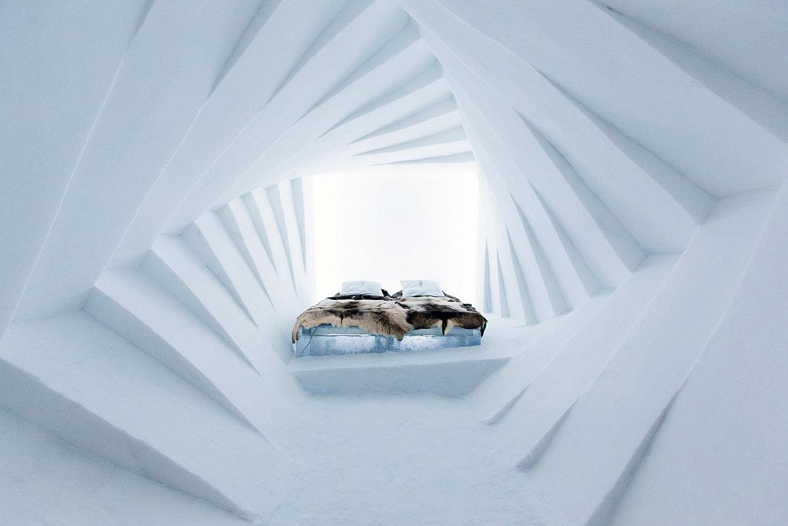 Photo from the 25th IceHotel in Jukkasjärvi, Sweden, taken by Paulina Holmgren
