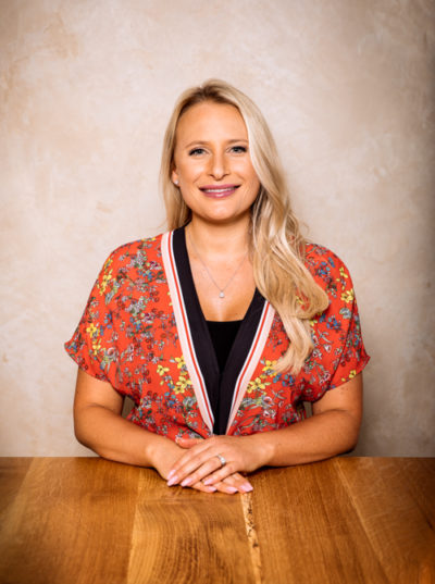 Julie Curtis van Zijl, Senior Designer