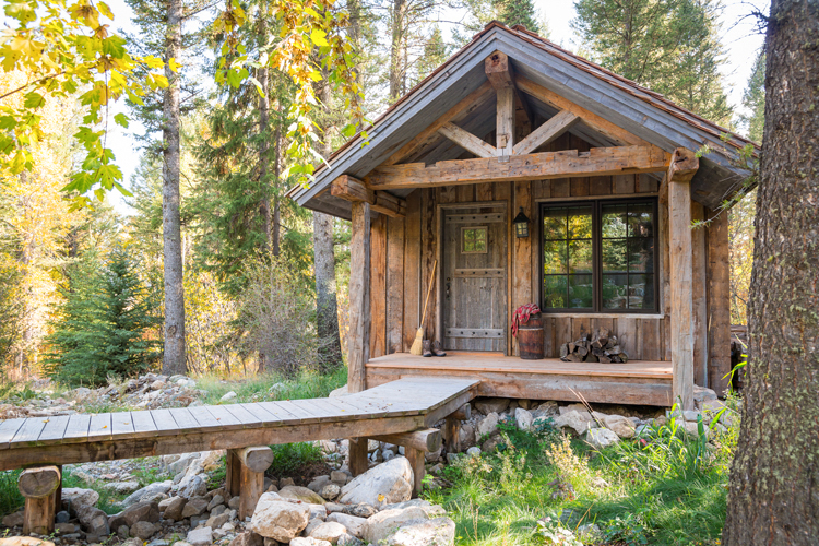 Reclaimed Cabin in the Woods